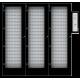 """Электронная ключница Серия""""L"""" до 540 ключей без блокировки с кодонаборной панелью в комплекте 540 брелков  (2 доп. шкафа)"""