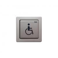 Клавиша из нерж.стали: инвалид