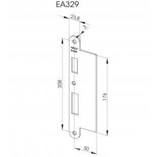 EA329 Запорная планка стандарта DIN