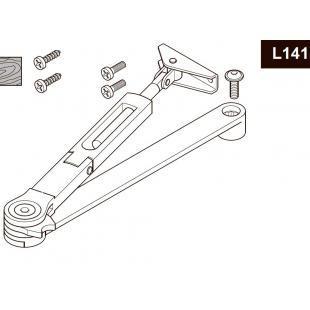 DCL141 тяга с ФОП рычажная (фиксацией в открытом положении) для DC110 DC120 DC140