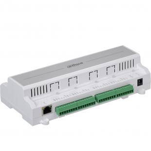 ASC1204B - Dahua - Сетевой контроллер 4-дверный; Поддержка 100000 карт & 300000 записей; Поддержка 4 считывателей, 4 кнопки выхода, 4 датчика двери