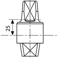 MA0365S0 (AC365) - шпиндель 25 мм