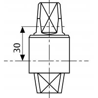 MA0366S0 (AC366) - шпиндель 30 мм