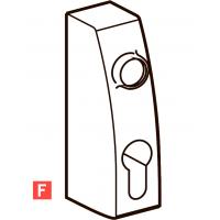PHT 07F фитинг без ручек для противопожарных дверей