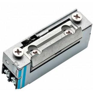 Basic-XS электрозащелка с регулируемым радиусным язычком 24 VDC НЗ для дверей с притвором