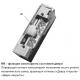 Basic-XS RR Easy Adapt электрозащелка с регулируемым радиусным язычком 24 VDC НО для дверей с притвором