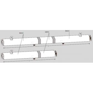 Крышка ED VARIO для двустворчатых систем ED 100 / ED 250