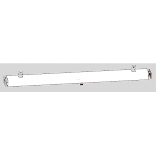 Цельная крышка ED PROFESSIONAL для приводов двустворчатых дверей
