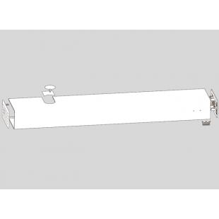 Базовая крышка ED BASIC ED 100 / ED 250 алюминиевая для привода одностворчатой двери