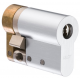 CY321 ABLOY односторонний цилиндр стандарта DIN с изменяемой длиной (шаг 5 мм) и положением кама (флажка)
