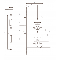NF6112 механический замок