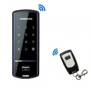 Дверной накладной автономный замок SHS-1321W XAK/EN Samsung