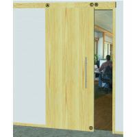 Уплотнитель раздвижной двери, в комплекте верхний и нижний, для двери шириной 583 - 708 мм