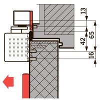Монт. пл. 40 мм для G-SR
