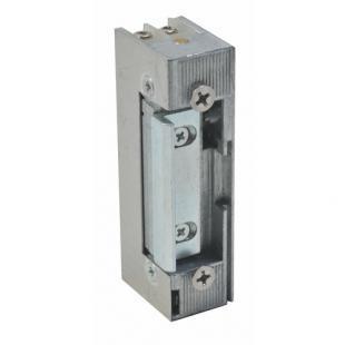 Basic E-RR электрозащелка с регулируемым язычком 12В DC для дверей с притвором