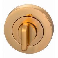 Комплект ручек Hafele Nice 2 для межкомнатных дверей с завертками WC, покрытие латунь полированная