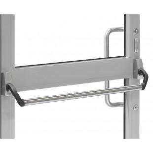 Паник бар PBE003 ABLOY для профильных дверей с заглушкой с внешней стороны