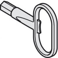 Ключ замка складной двери