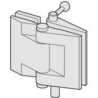 Складная петля нижняя, с блокировкой