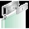 Замки для стеклянных дверей