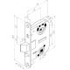 4260 ABLOY цилиндровый врезной замок с автоматическим запиранием ригеля