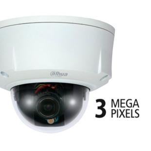 "DH-IPC-HDBW8301P видеокамера IP купольная, 1/3"" 3Мп"