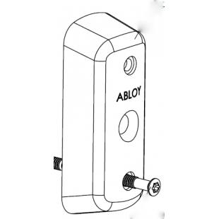 Высокая скобянка 35мм цилиндра для профильных дверей Abloy