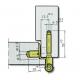 Симметричная петля FT-65KS ABLOY