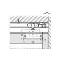Раздвижной механизм Divido 100 RSO