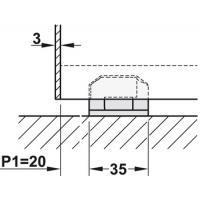 Механизм раздвижной двери из древесины HAWA Junior 120/В. Вес двери до 120 кг.