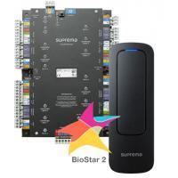 Suprema CST-4DR-D2M. Комплект СКУД: мастер-контроллер CS-40 + RFID-считыватель Xpass D2 Mullion (4 шт.) + ПО BioStar2 Starter + мобильные идентификаторы