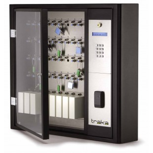 Электронная ключница Серия S до 60 ключей с блокировкой брелков iFob, со считывателем и кодонаборной панелью, в комплекте 60 брелков iFob