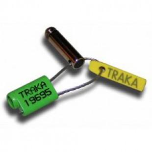 Тросовая пломба 1.5/125мм SS-CABLE-GREEN TRAKA