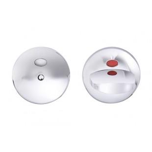 Поворотная кнопка для туалетных дверей 002 ABLOY материал: латунь