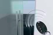 Пульт ДУ  В качестве дополнительной опции для приводов CS80 MAGNEO возможна установка системы радиоуправления посредством отдачи команд через пульт дистанционного управления.