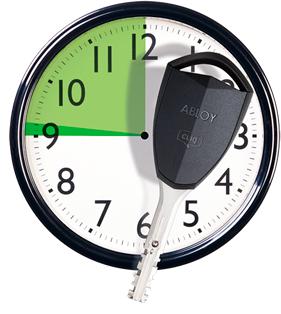 Легко контролировать доступ, например, если нужно ограничить доступ сотрудникам или посетителям в конкретные двери и на определенное время.