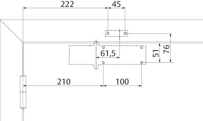 Установочные размеры по EN3