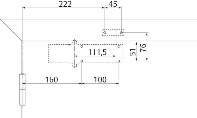 Установочные размеры по EN2