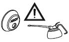Неправильные смазочные  материалы могут быть опасны для электроники цилиндра. Используйте только масло ABLOY