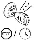 Ключ отклонен, неверный код или диапазон времени