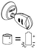 Если нет сигнала, попробуйте еще раз. Возможно батарейка полностью разряжена и ее надо заменить. В этом случае замок не может быть открыт. Необходимо обратиться к системному администратору.