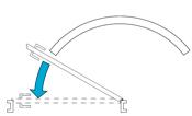 Конечная скорость закрывания Скорость закрывания дверной створки с момента открытия двери между 15° и 0° до момента полного закрытия.