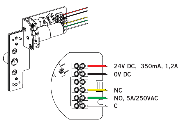 Схема подключения PHM