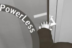 PowerLess Дверь легко открывается вручную без усилия.Затем привод PORTEO автоматически закрывает дверь после индивидуально установленного периода удержания ее в открытом положении.