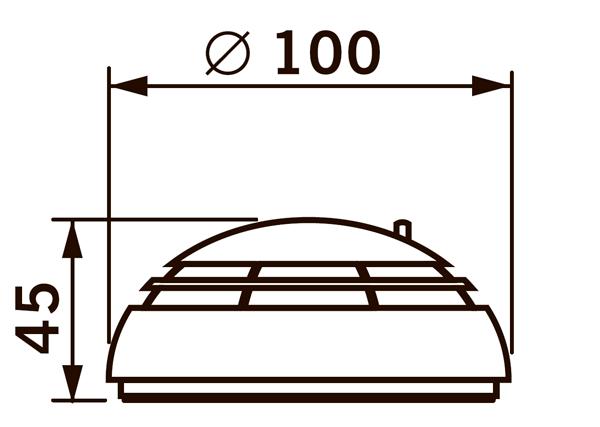 Детектор дыма DORMA RM-N для монтажа на потолок
