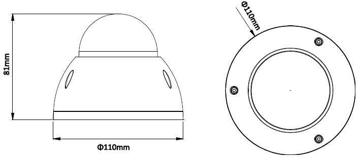 DH-IPC-HDBW4800EP размеры