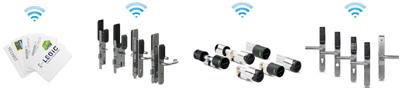 Легко, быстро и просто превратите существующие двери с механическими ключами в контролируемую онлайн точку прохода с системой Aperio®