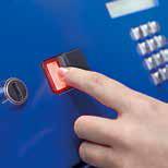 Различные варианты доступа: PIN код, смарт карта, биометрия