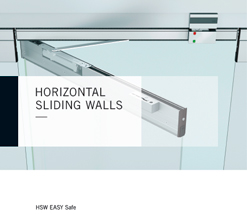 Техническая брошюра на транформируемые перегородки HSW EASY Safe анг.