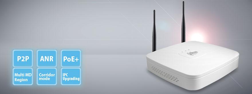 Сетевой видеорегистратор Smart Wi-Fi 1U на 4 канала NVR4104-W